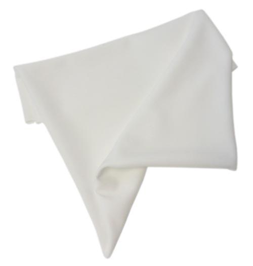 hoyttalerstoff hvit