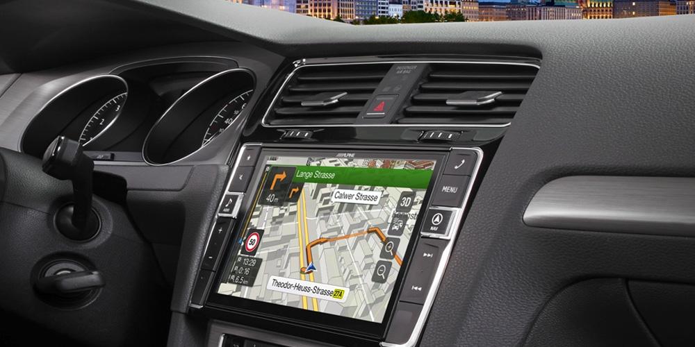 Alpine X901D-G7 Volkswagen GOLF 7 DAB radio