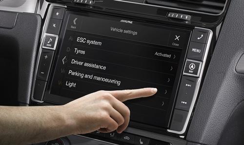 System oppsett for bilen