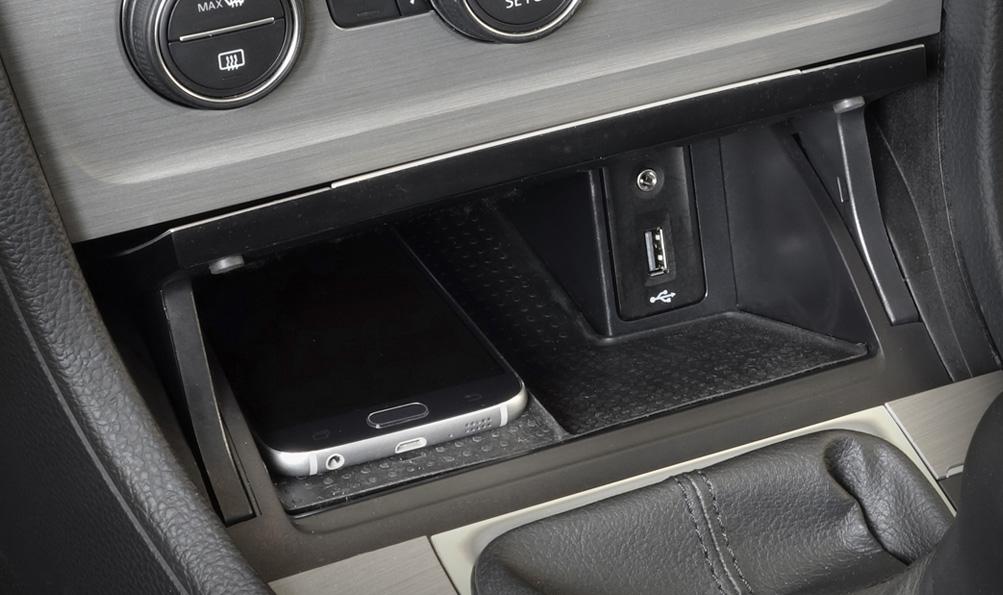 USB og AUX tilkobling