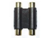 in-akustik RCA Dobbel kobling Premium, stk
