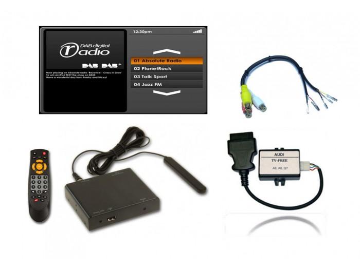 DAB+ Integreringsadapter - Audi - ASUKA-AUDI-01