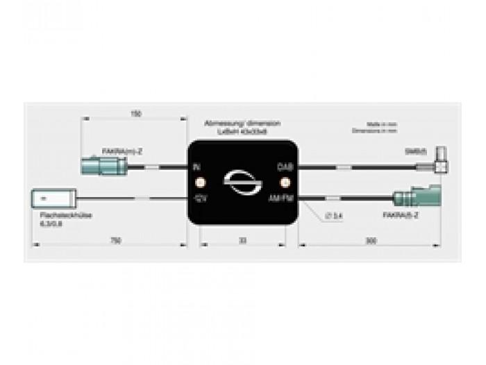 ANTENNENSYSTEME FM_DAB splitter - SMB - 472603