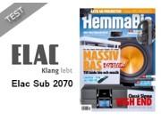 Elac SUB 2070 til topps i Svensk test
