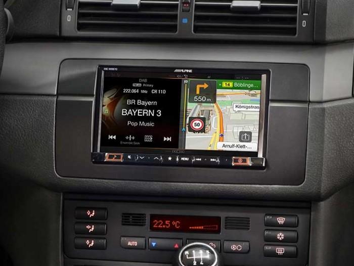 Alpine INE-W997E46 BMW - Spesialtilpasset navigasjonsystem