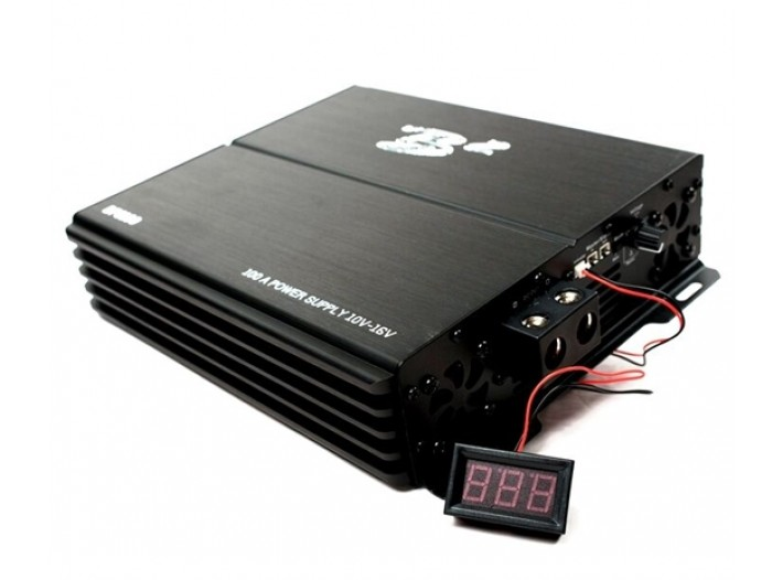 B2 Audio 100Amp Strømforsyning som er CE godkjent