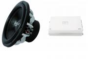 B2 Audio 2 stk EL12D4 med MA1200.1